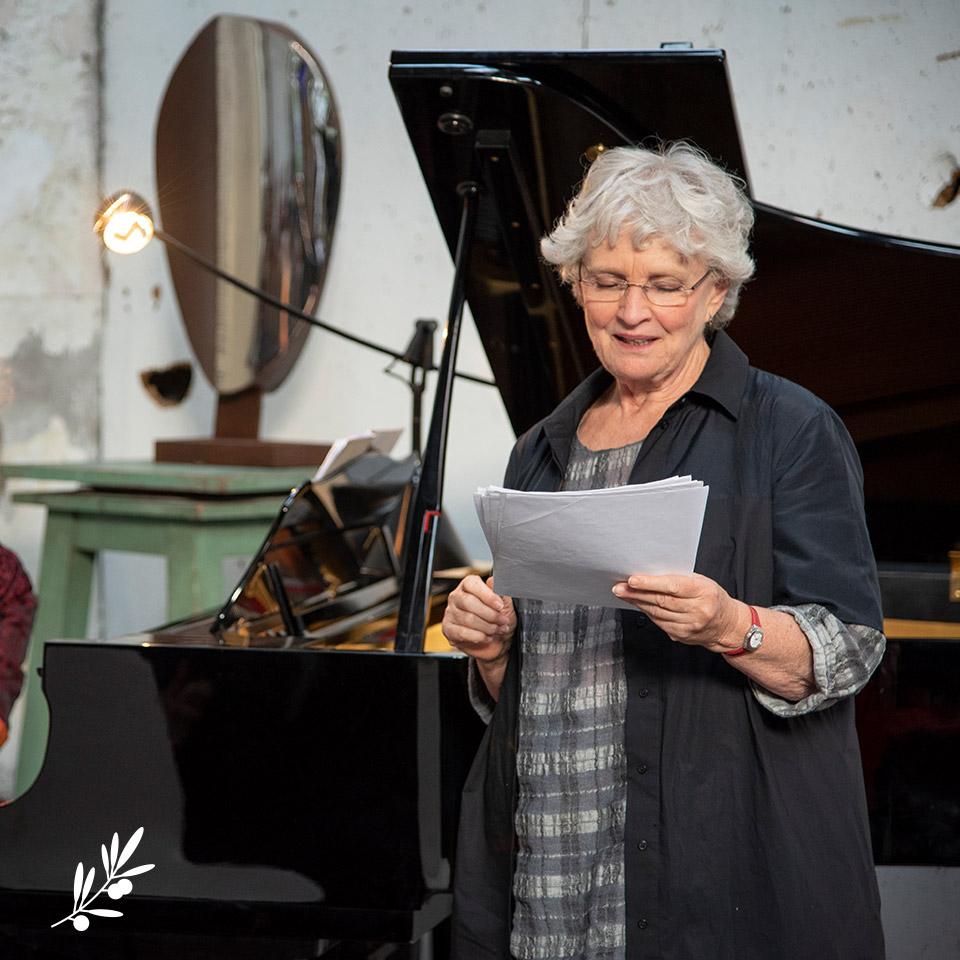 Les Impromptus de l'Olivier : Marie-Christine Barrault prête son talent à Christian Bobin