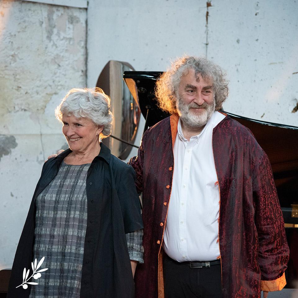 Les Impromptus de l'Olivier : Marie-Christine Barrault et Franck Ciup