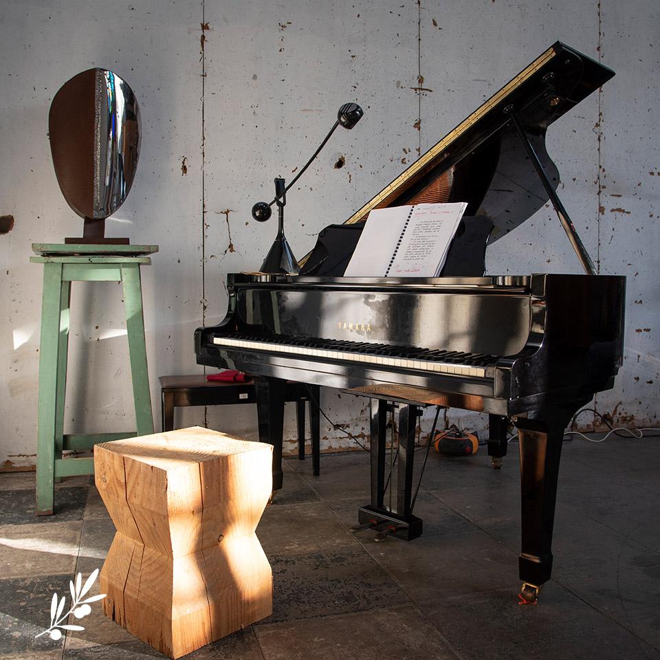 Le piano de Marcel Pagnol pour Les Impromptus de l'Olivier