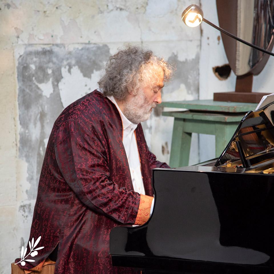 Les Impromptus de l'Olivier : Franck Ciup au piano
